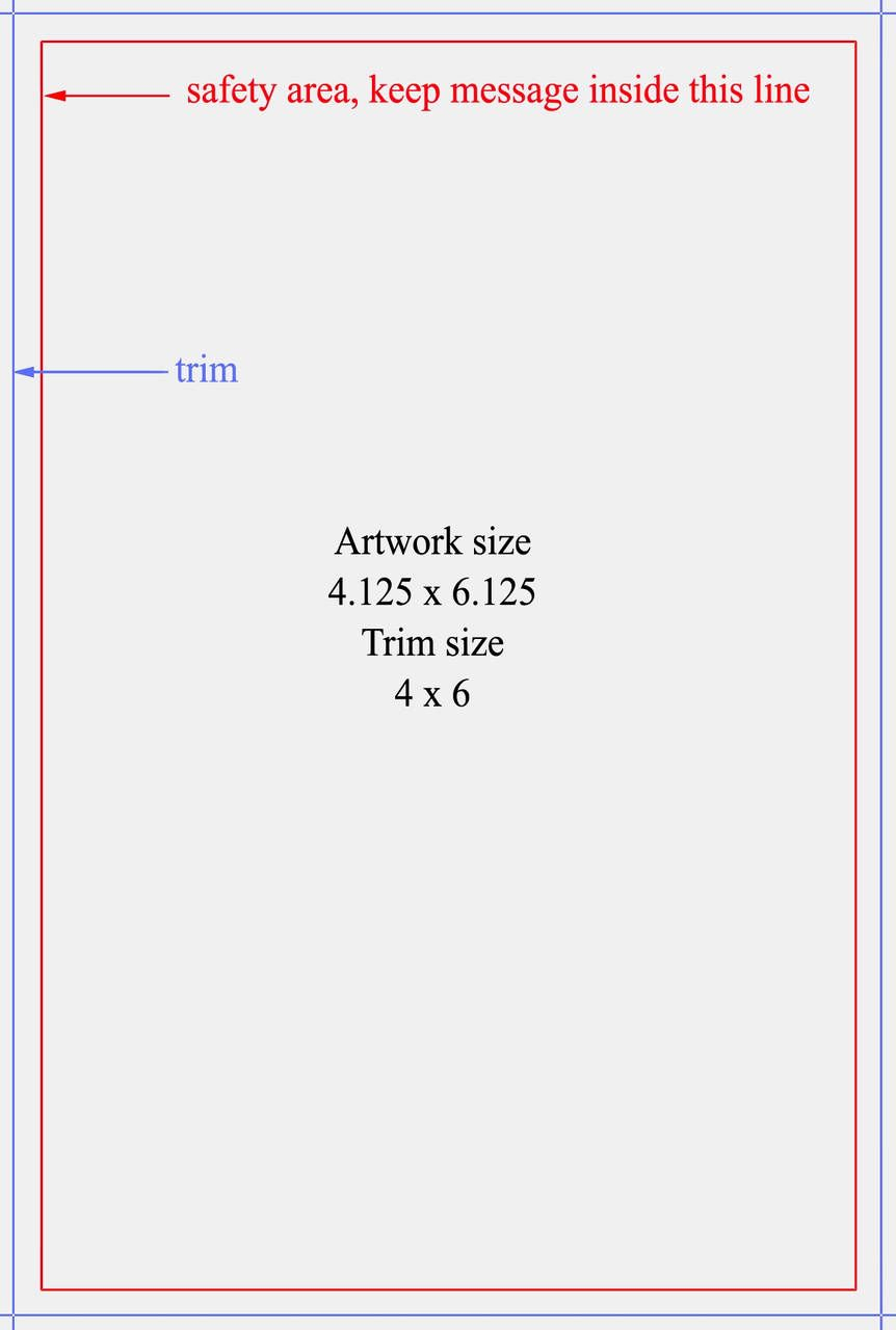 Avery Index Card Template 4×6