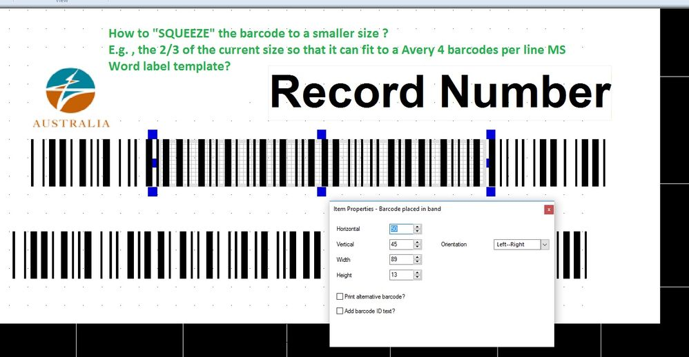 Avery Labels Printing Template
