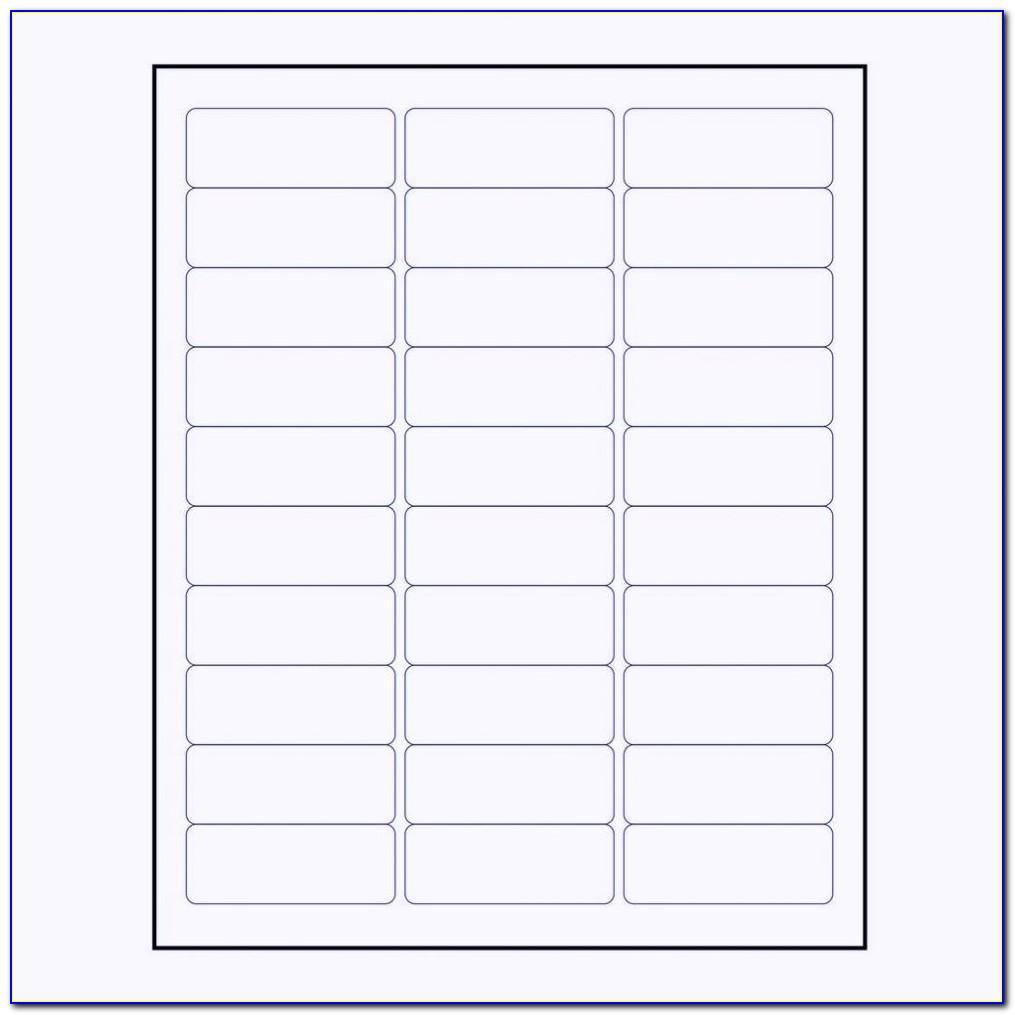 Avery Labels Templates For Mac