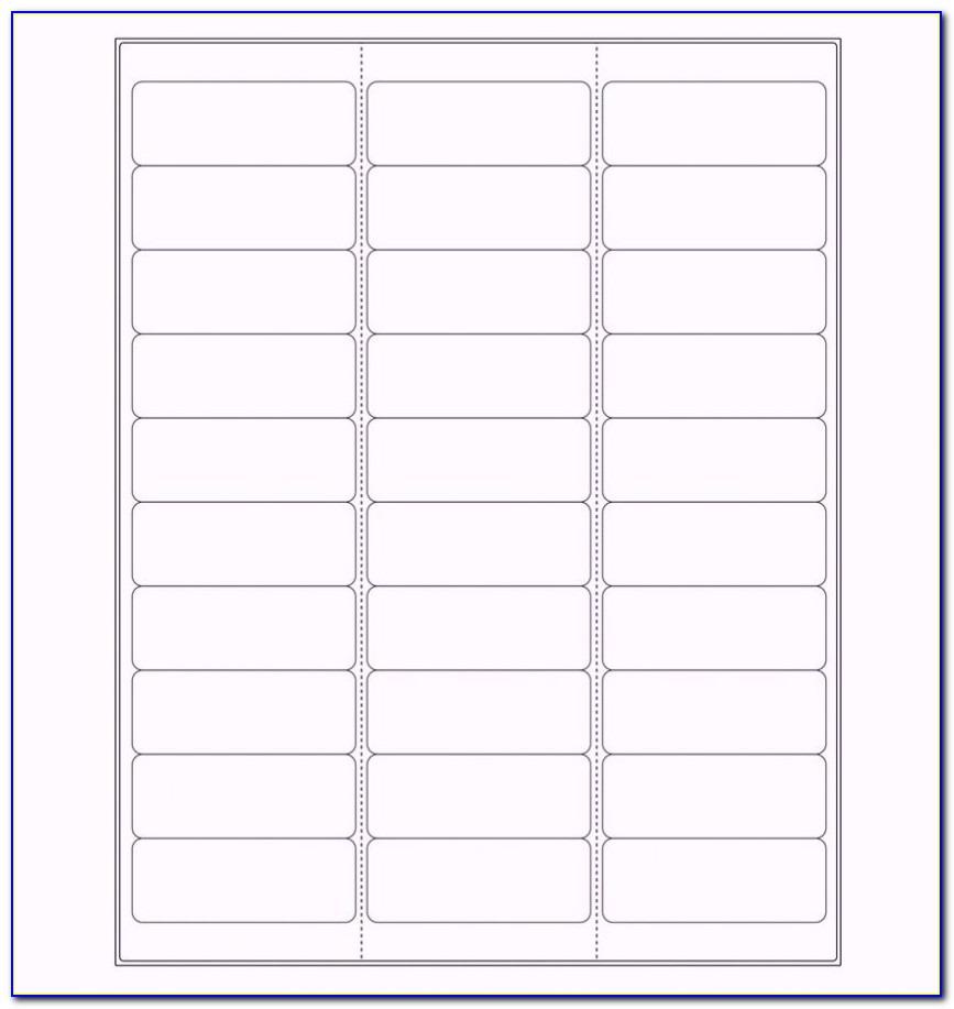 Avery Mailing Labels Template Word