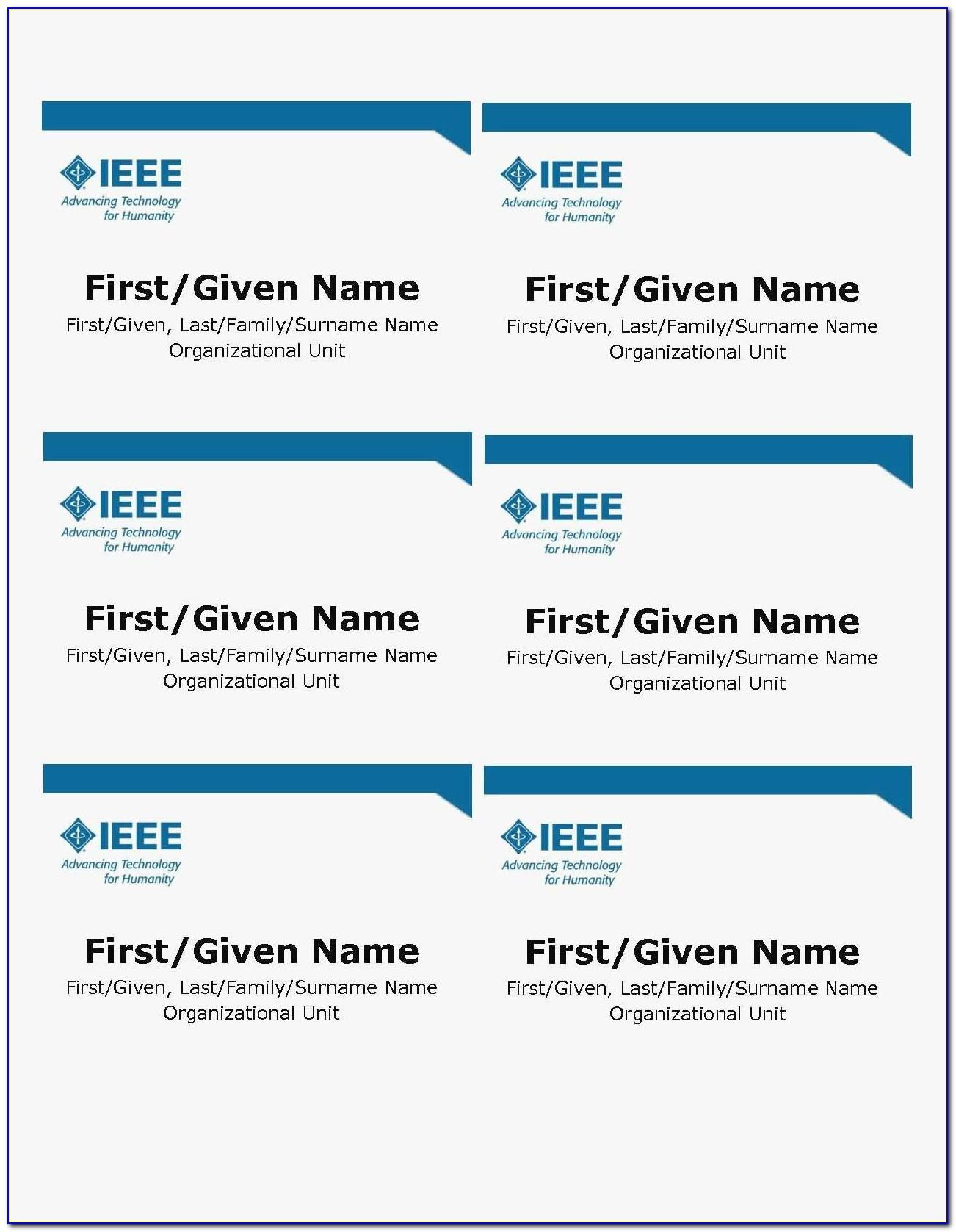 Avery Name Badge Template 2 1 4 X 3 1 2