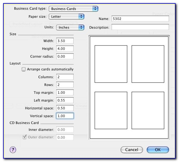 Printing Tent Cards No Template For Them Belight Software Forum For 5302 Avery Template