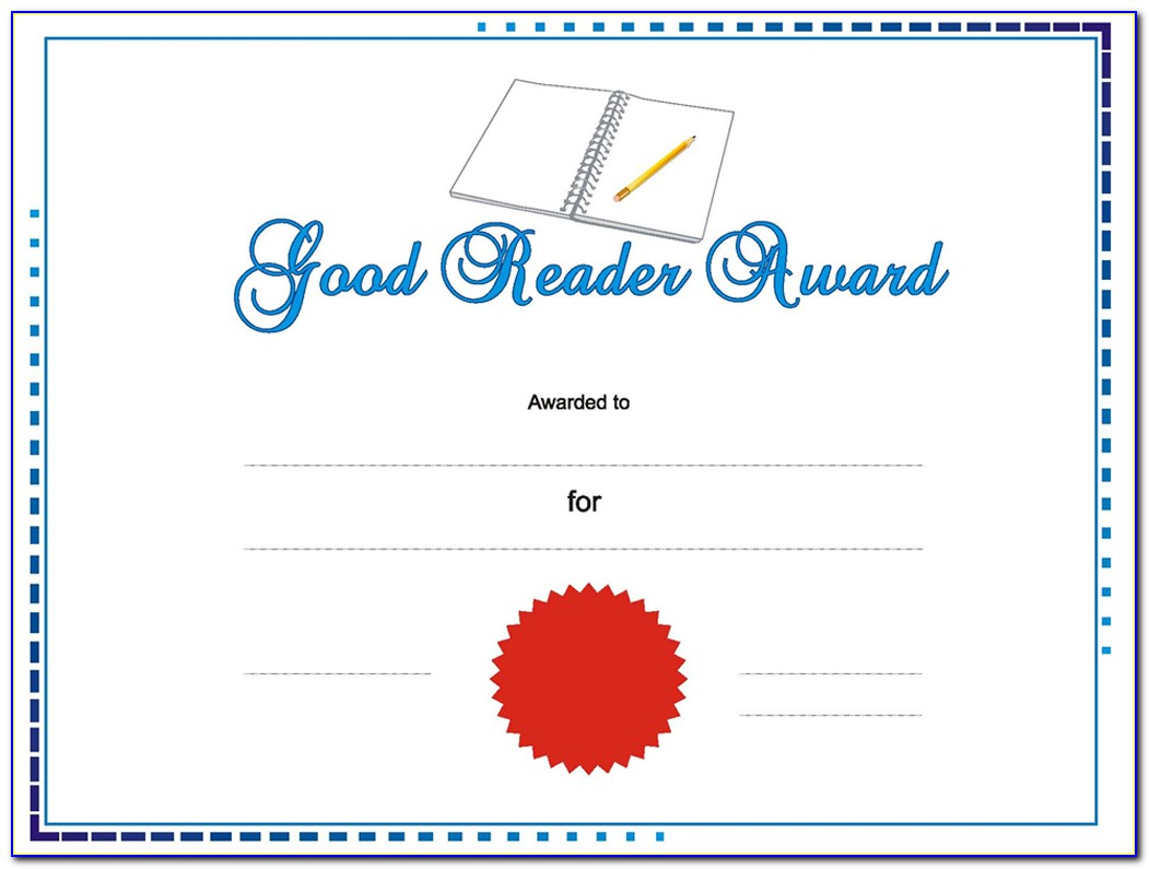 Award Certificate Template Microsoft Publisher