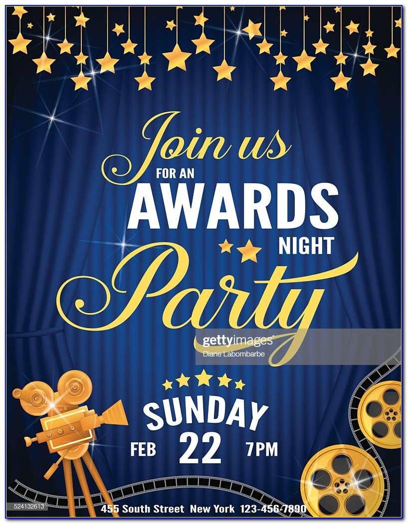 Awards Banquet Invitation Template Free