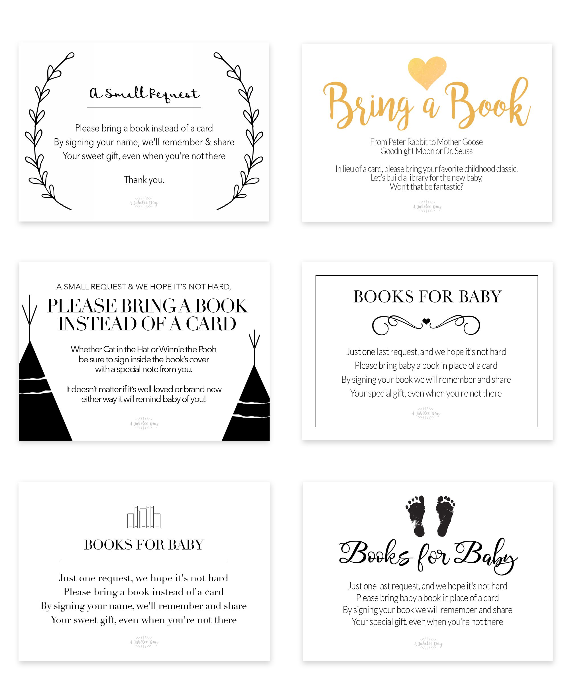 Baby Shower Card Printable Free