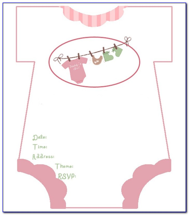 Baby Shower Invitation Templates Free Download