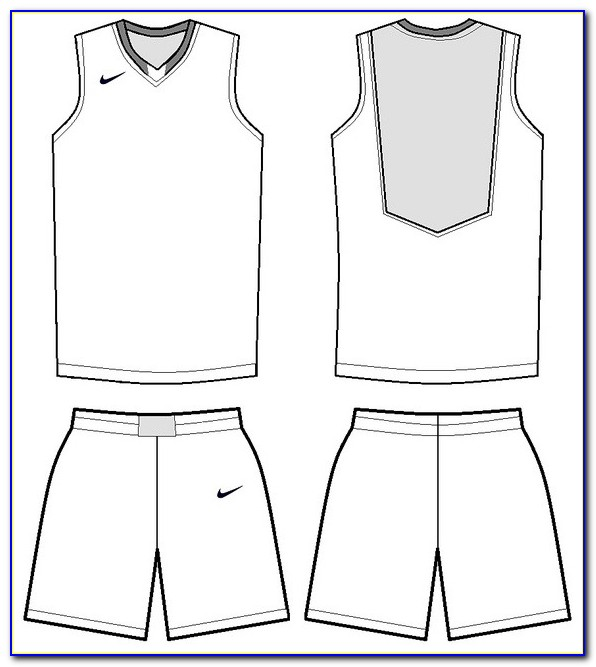 Basketball Jersey Design Templates Free