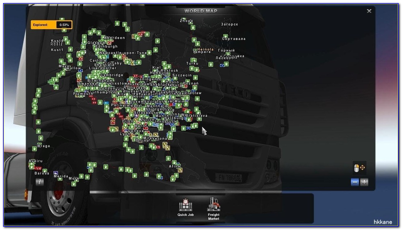 Best Map For Truckers