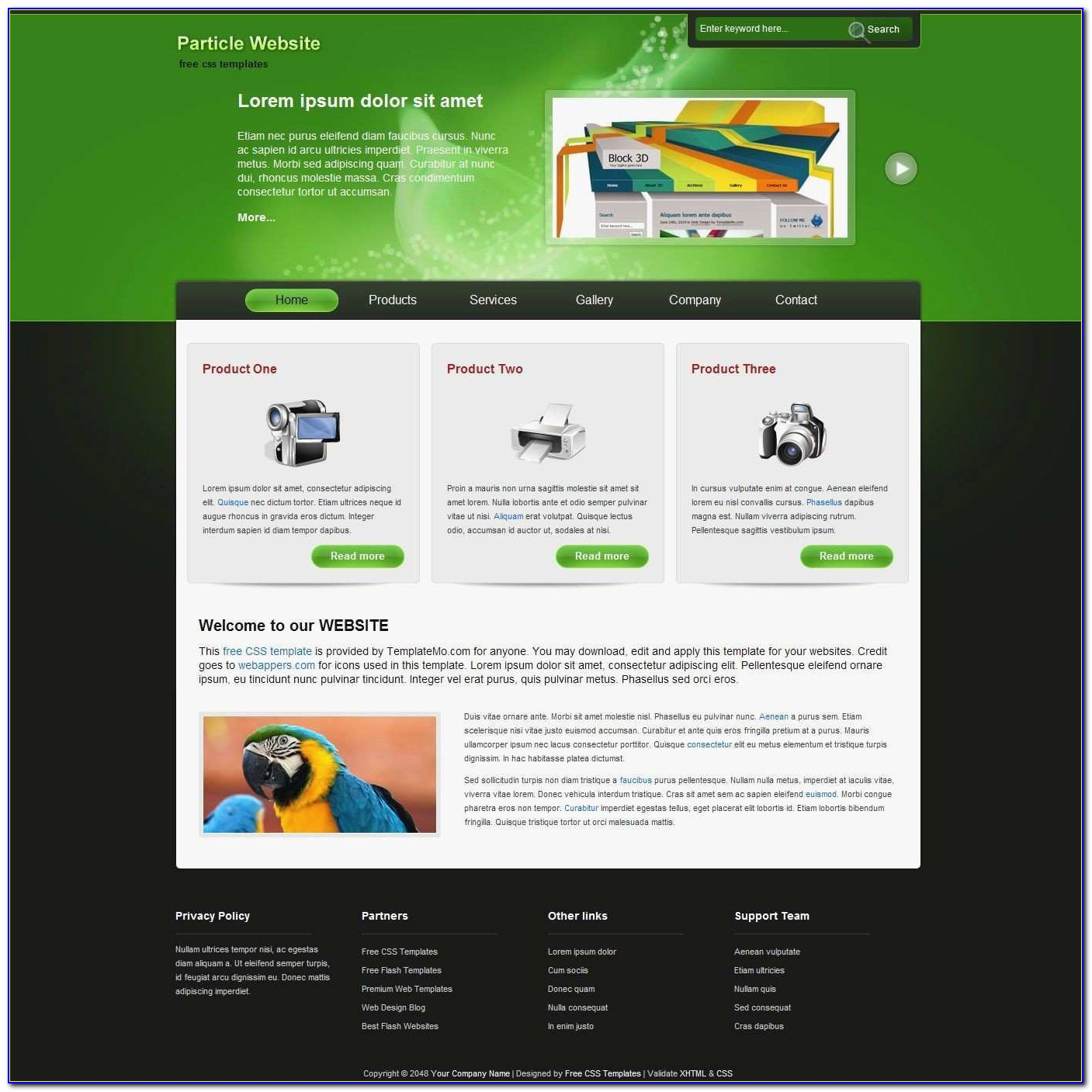 Responsive Website Templates Free Download Html With Css For School Fresh Webpage Design Templates Physic Minimalistics