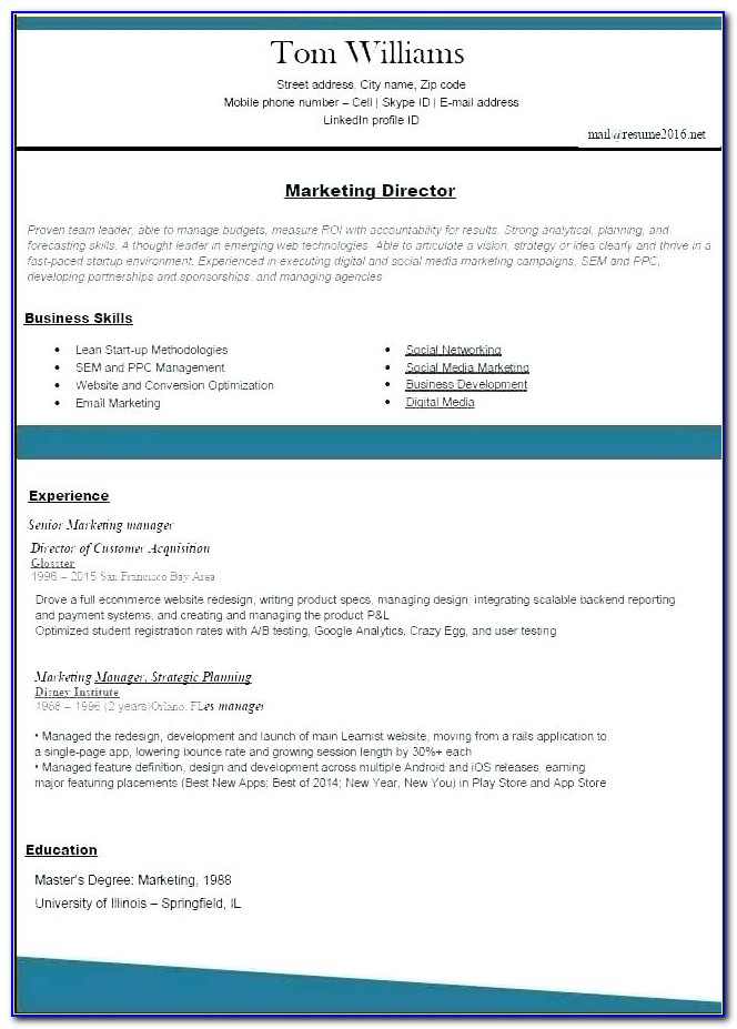 Best Resume Builder Sites