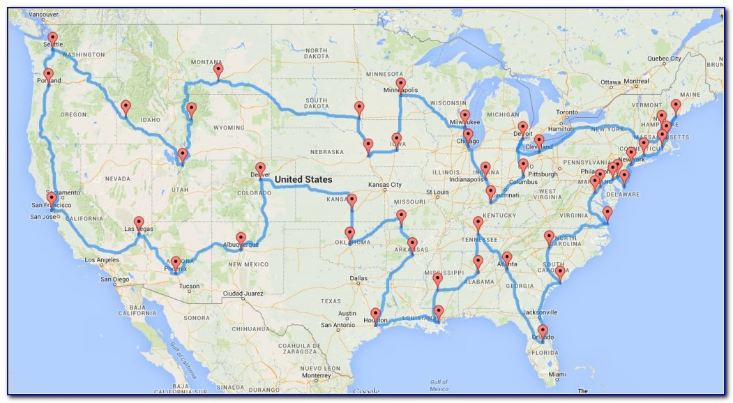 Best United States Road Trip Routes