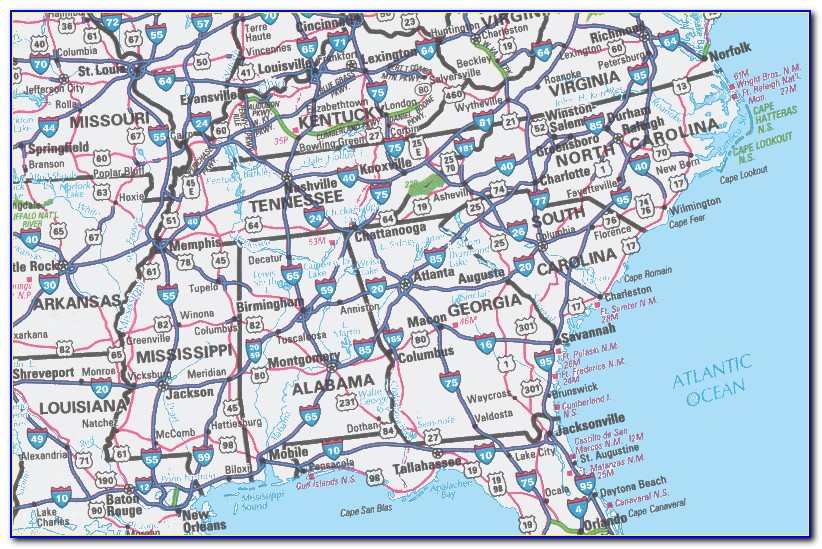 Big Us Road Map