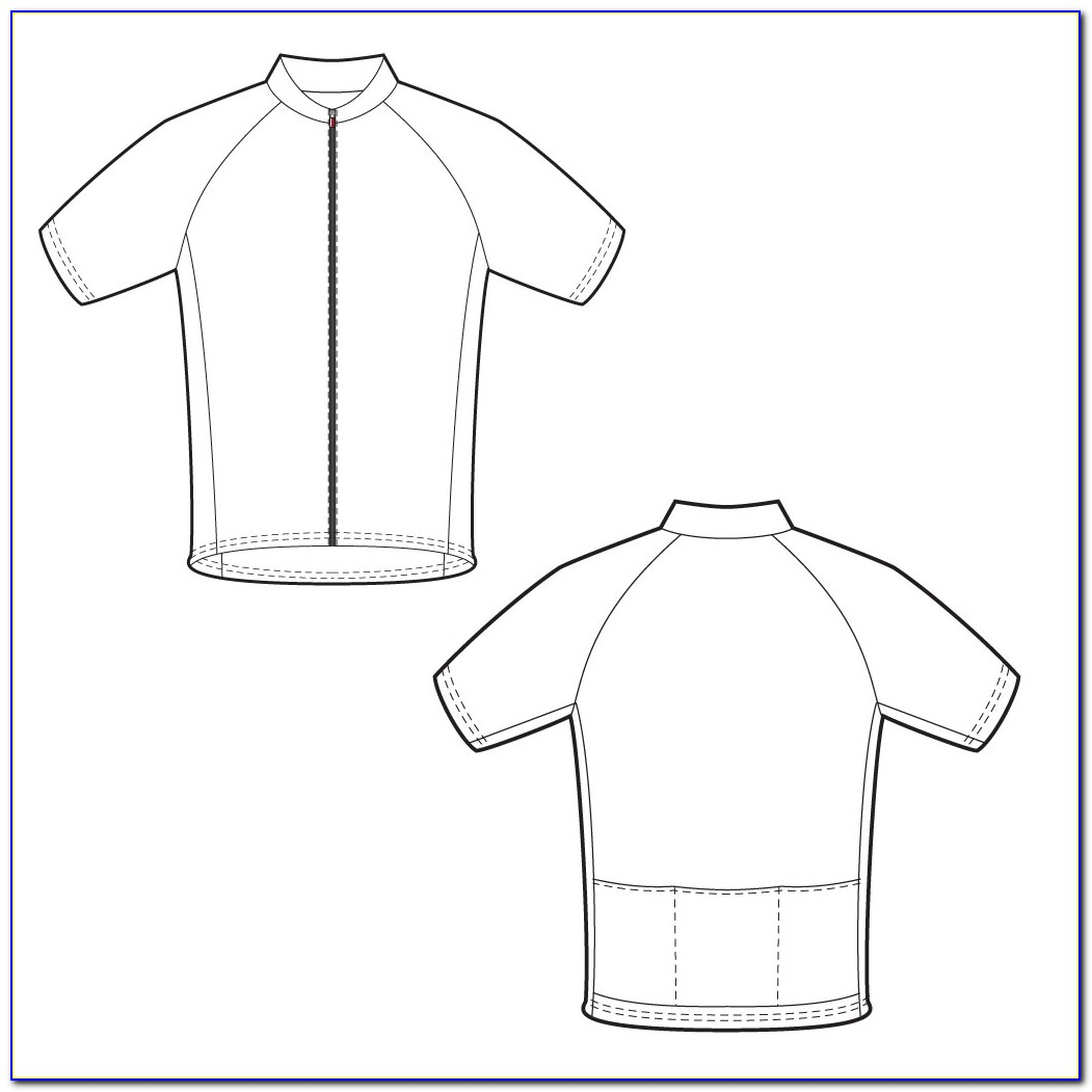 Bike Jersey Design Template
