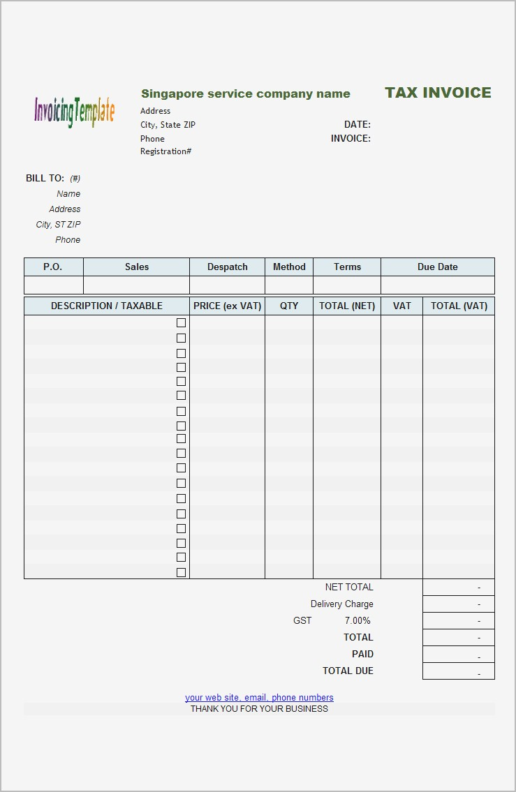 Billing Invoice Template Lovely Sample Of Invoice Format For Flower Shop Automotive Template Free Samples