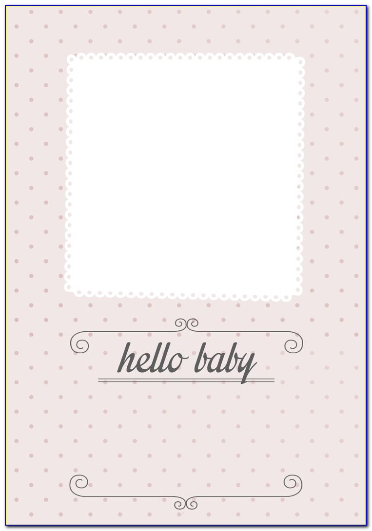 Birth Announcement Template Free Online