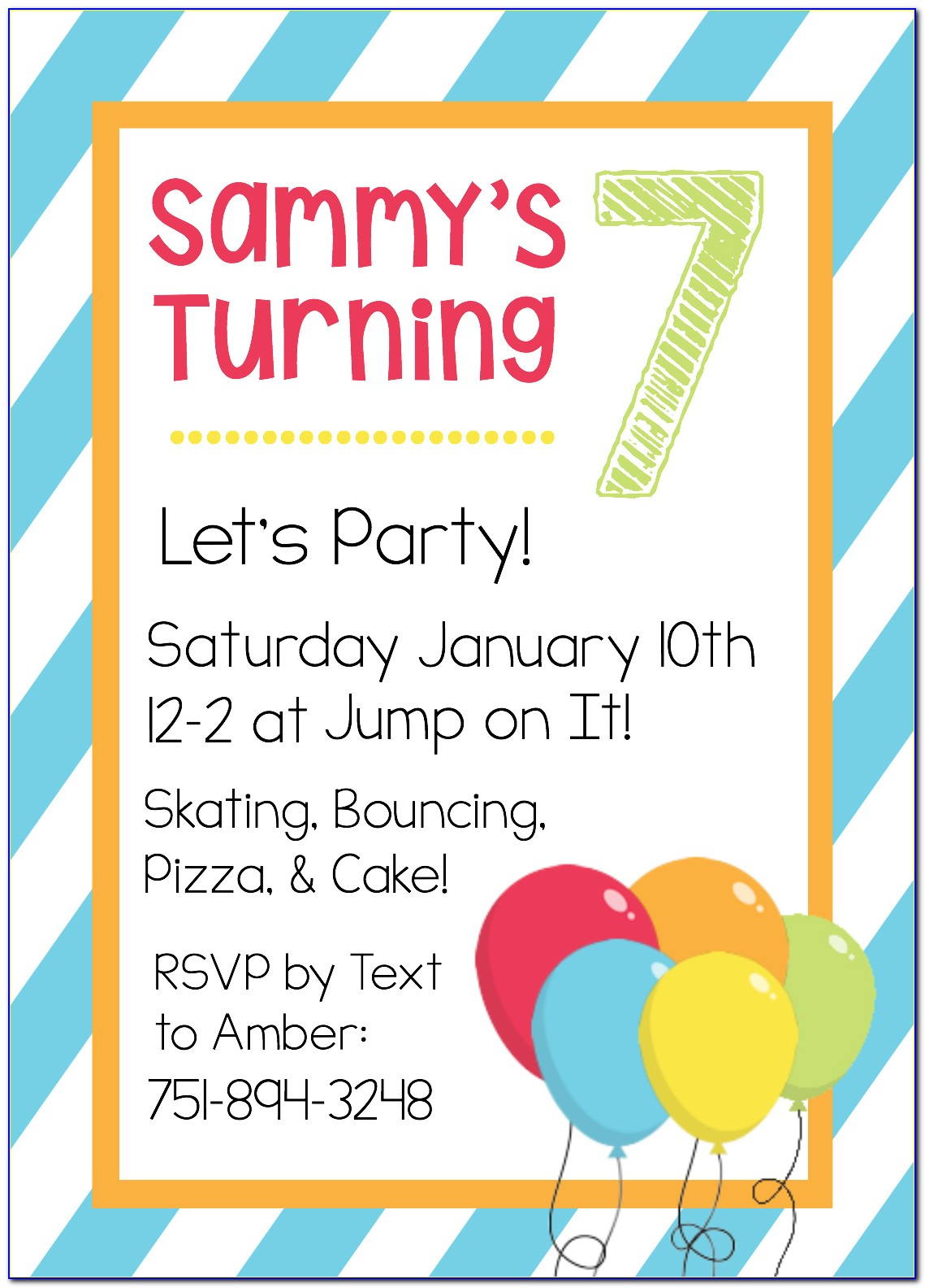 Birthday Invitations Templates Online Free