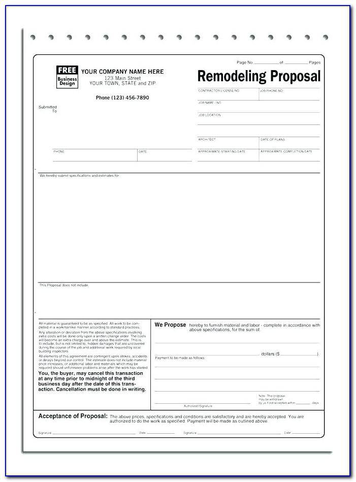 Blank Bill Of Lading Form Free