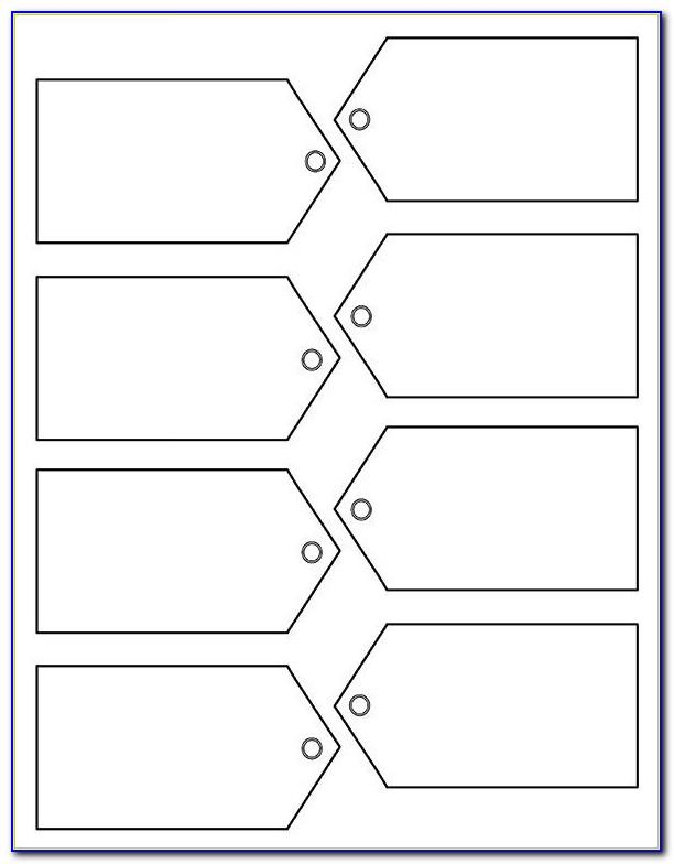 Blank Printable Gift Tag Template