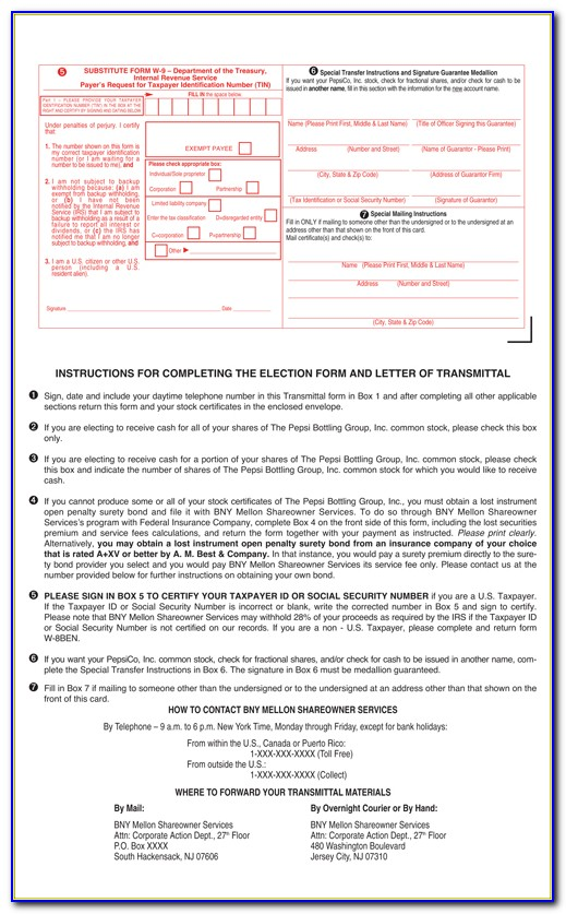 Bny Mellon Shareowner Services Transfer Of Stock Ownership Form