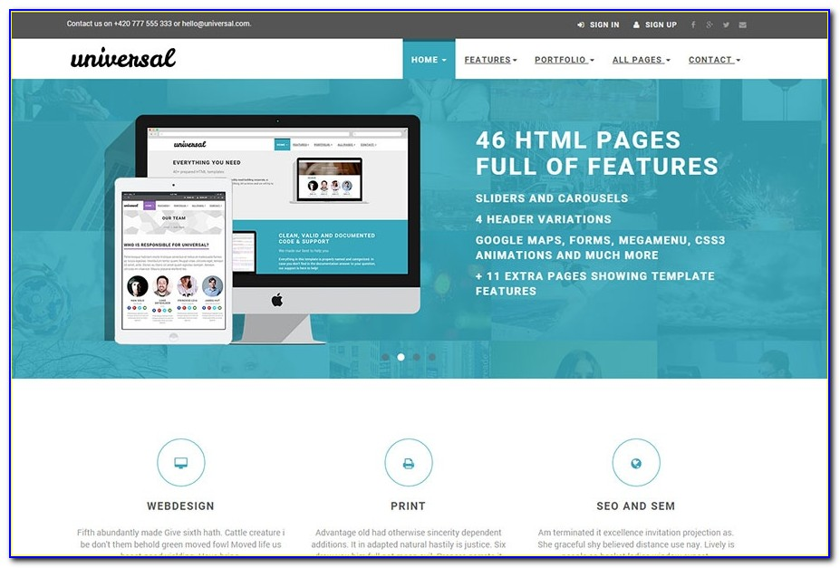 Bootstrap Responsive Ecommerce Website Templates Free Download