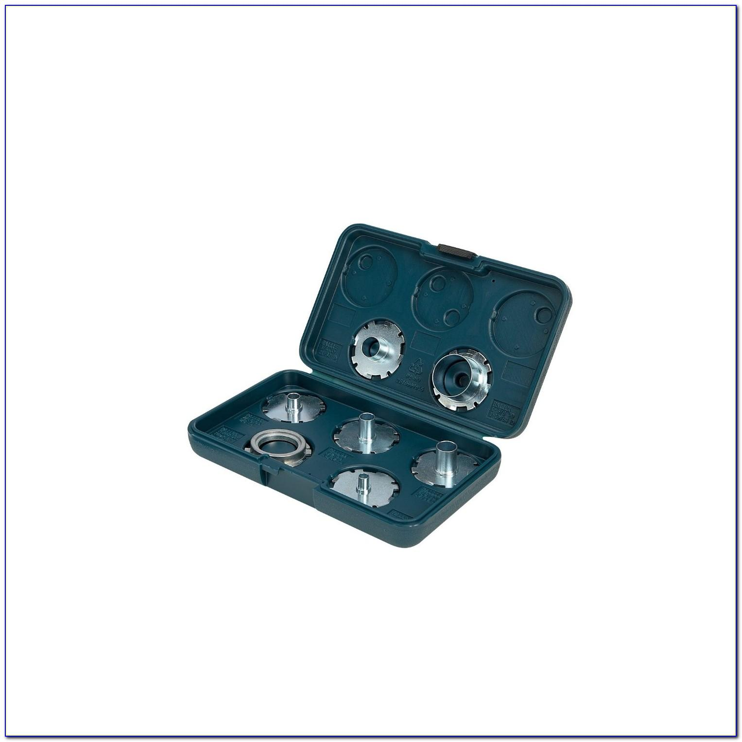 Bosch Router Template Guide Kit 8 Piece