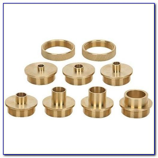 Brass Router Template Guide Set