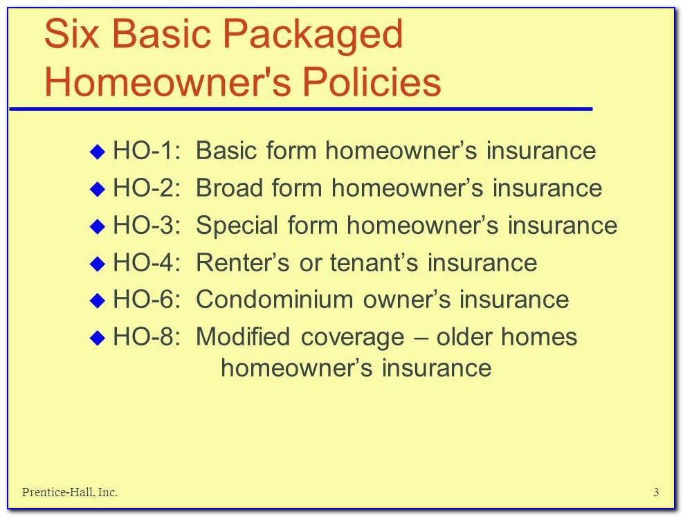 Broad Form Insurance Quotes Washington State