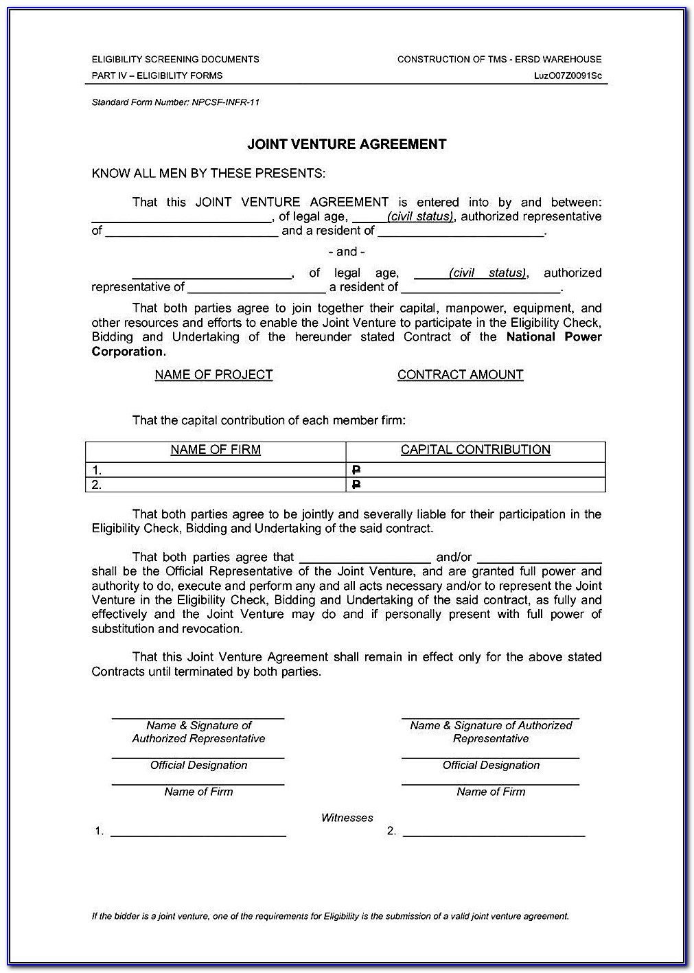 Brokerage Agreement Format India