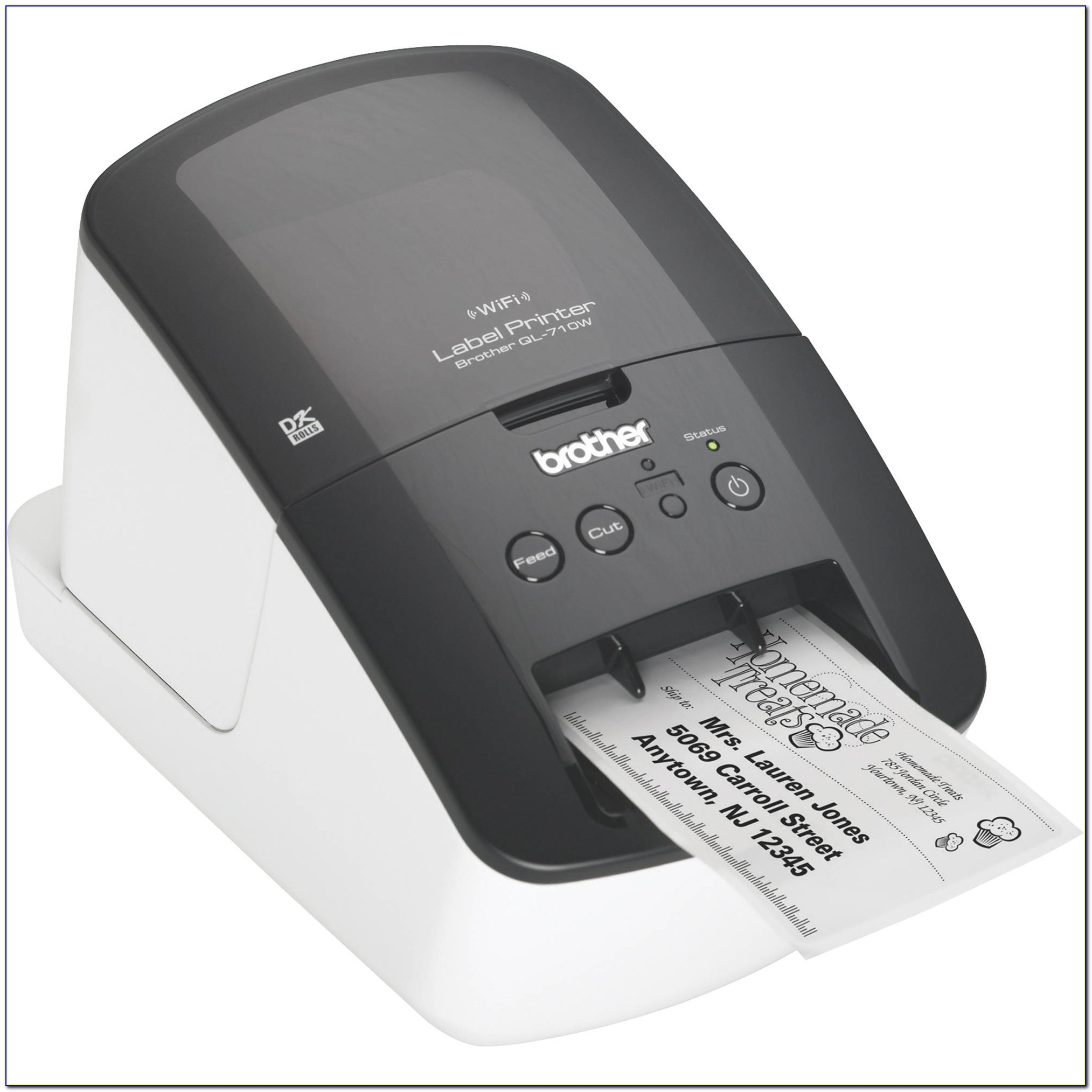 Brother Label Printer Template