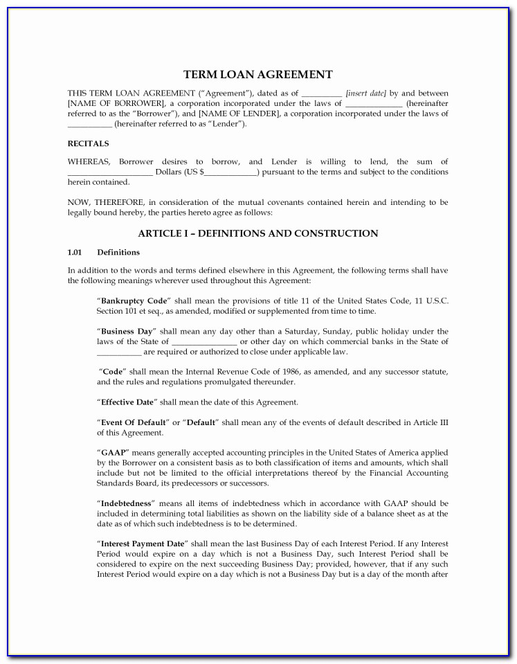Business Buyout Agreement Form