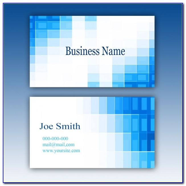 Business Card Design Psd File Free Download