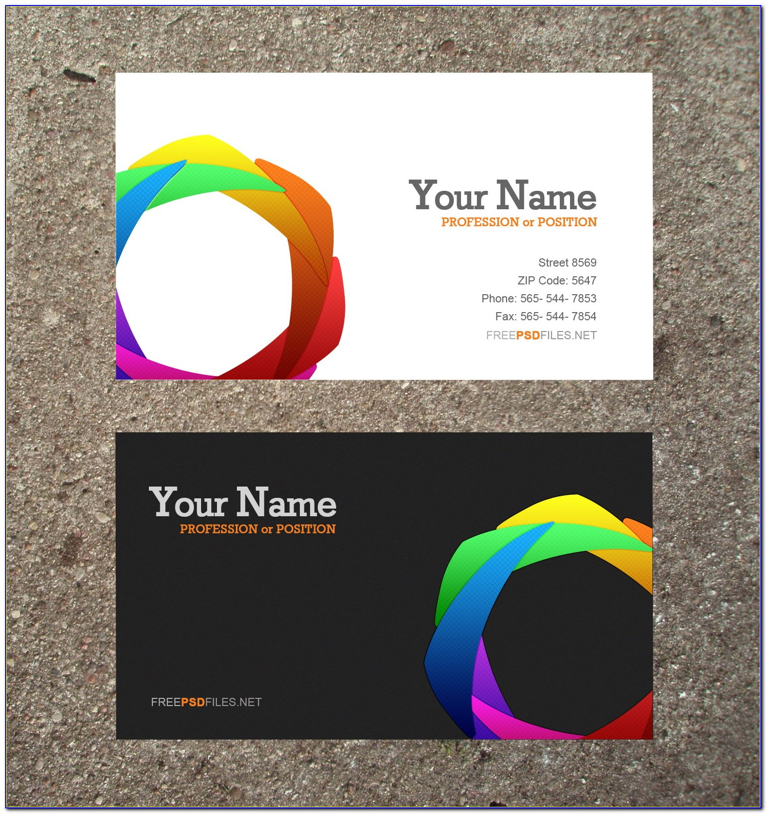 Business Card Design Psd Templates Free Download