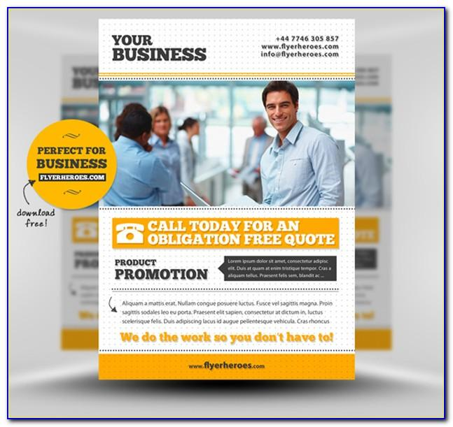 Business Flyer Templates Free Download Psd