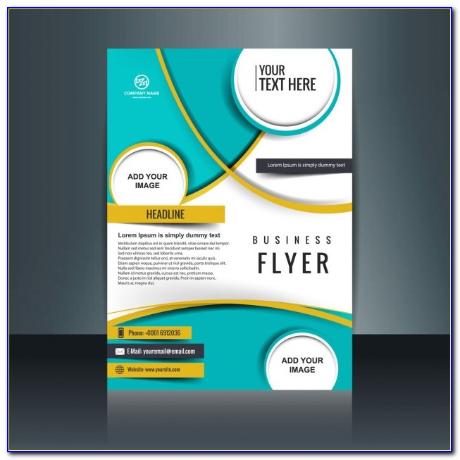 Business Flyer Templates Vector Free Download