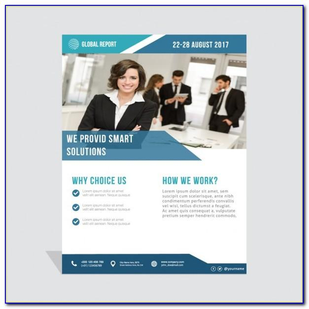 Business Flyers Samples Free