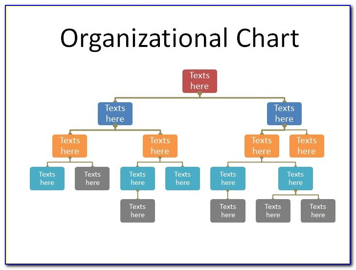 Business Infographic Organization Chart Template