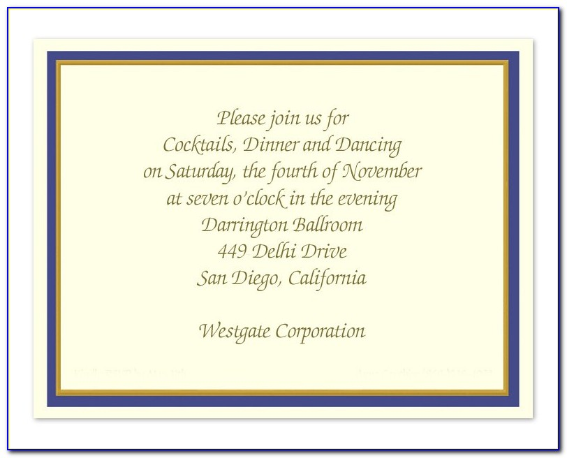 Business Lunch Invitation Wording Samples