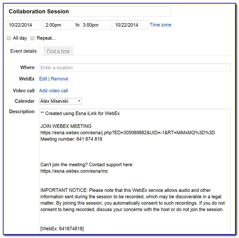 Business Meeting Invitation Email Samples