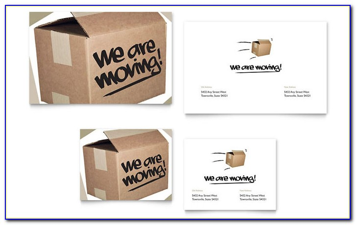 Business Moving Announcement Letter Samples