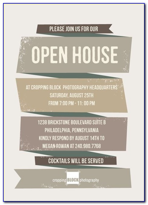 1000 Images About Open House On Pinterest Flyers Real Estates Business Open House Invitation Template