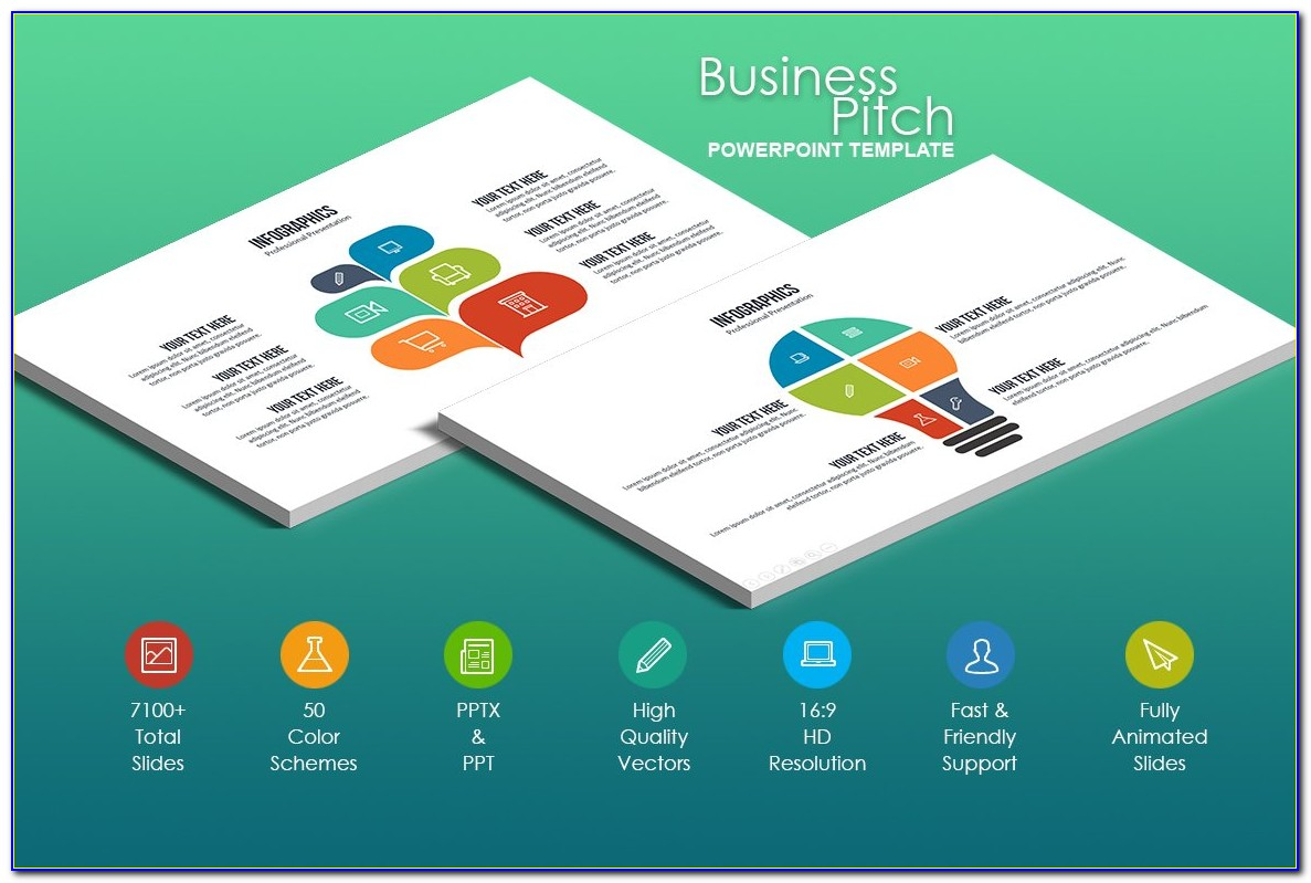 Business Plan Pitch Powerpoint Example