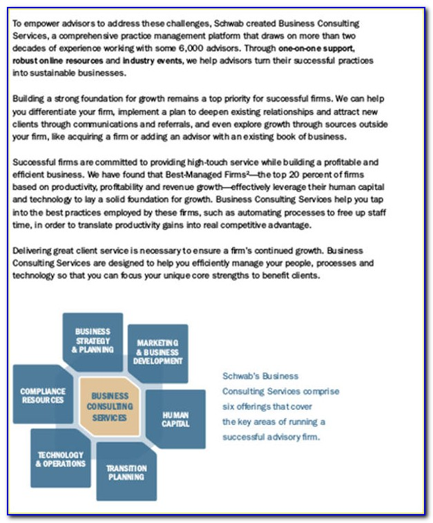 Business Plan Template For Consulting Firm
