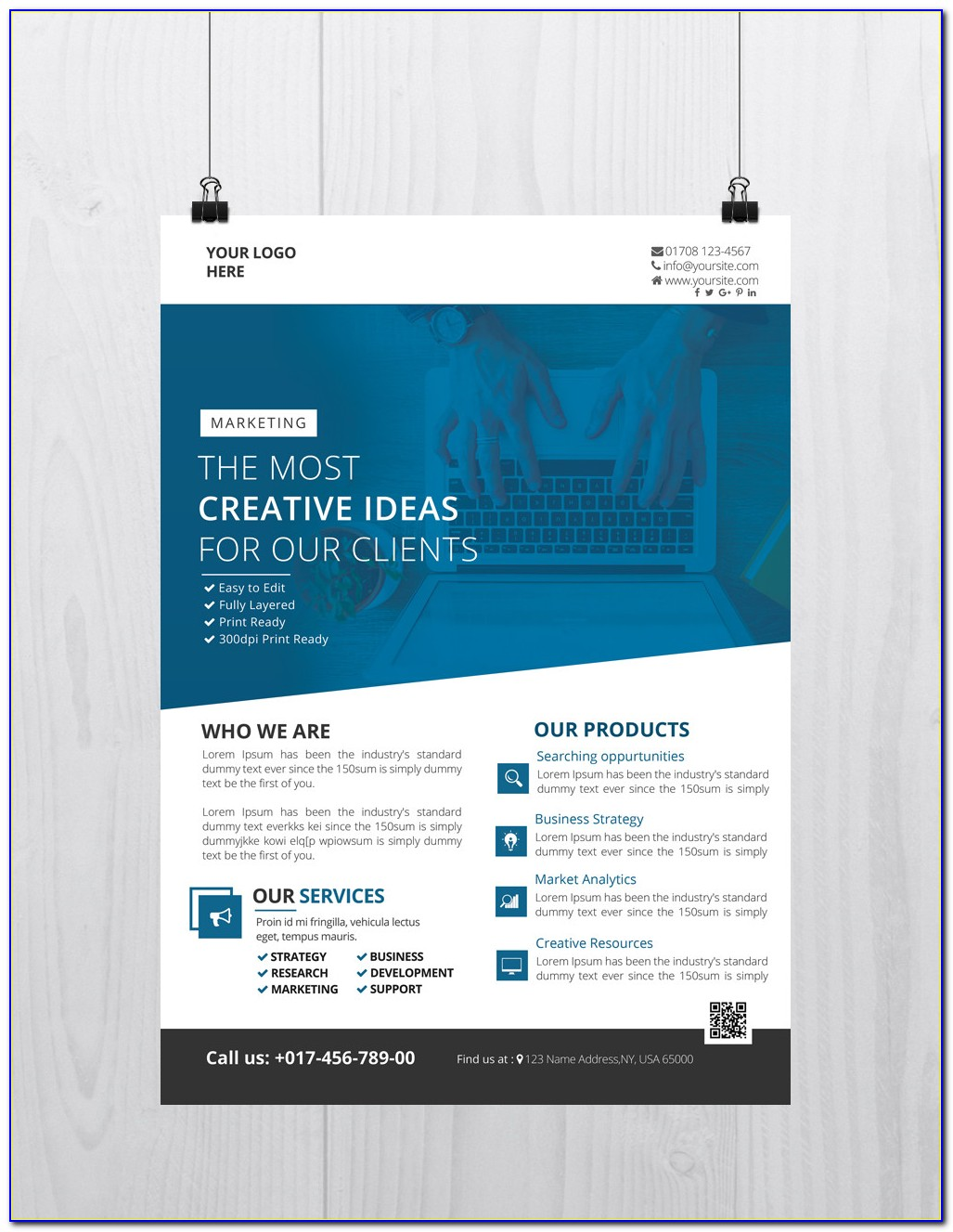 Business Training Flyer Templates Free Download