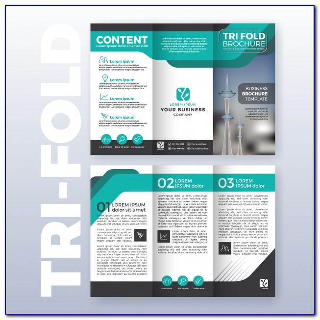 Business Tri Fold Brochure Template