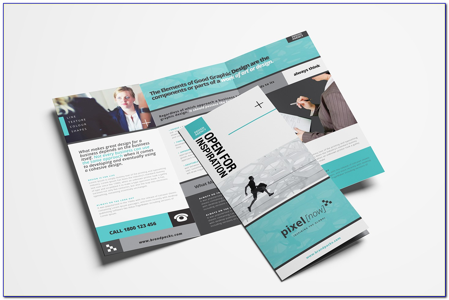 Business Tri Fold Brochure Templates Free Download