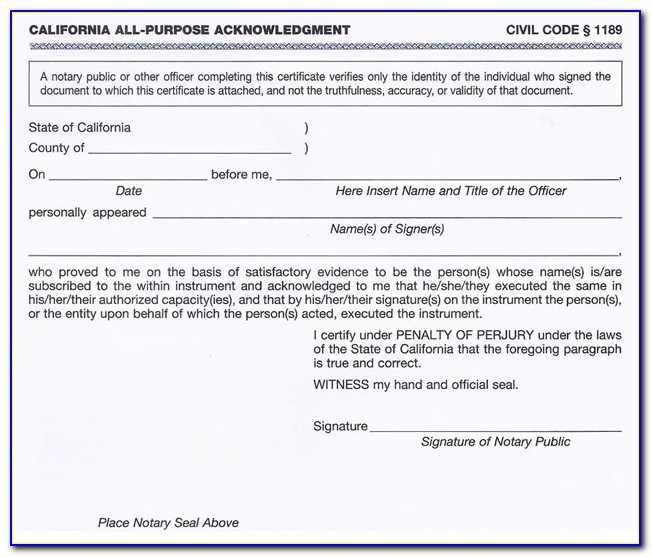 Ca Notary Acceptable Forms Of Id