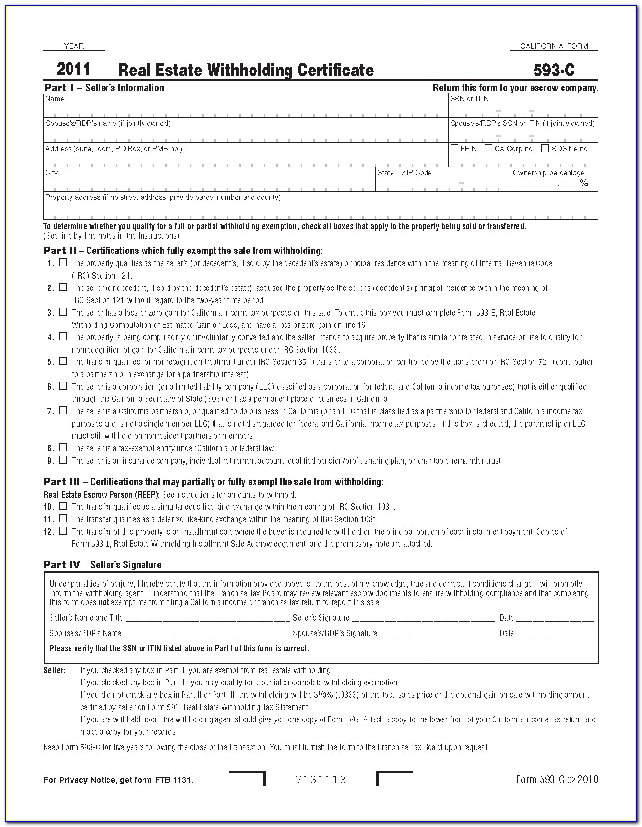 California State Tax Forms By Mail