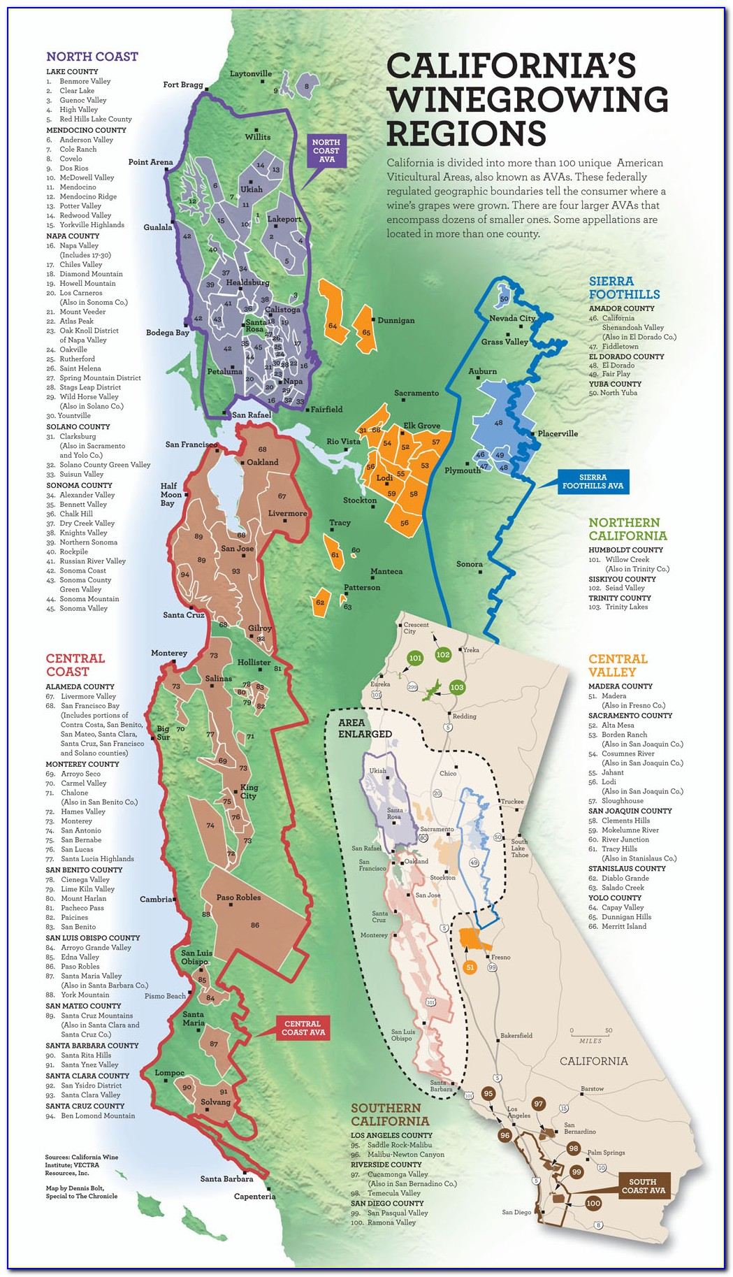 California Winery Map