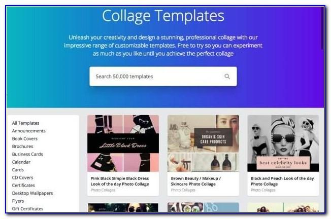 Canva Collage Templates Download