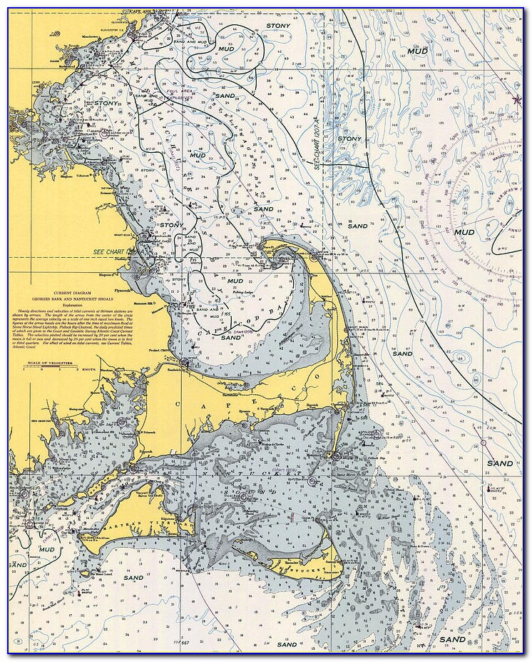 Cape Cod Canal Nautical Chart